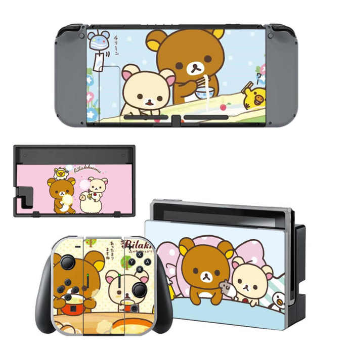 Rilakkuma Nintendo switch Skin