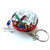 Tape Measure School Time Small Retractable Measuring Tape Key Ring