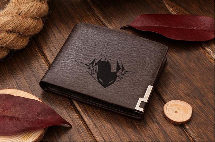 Pokemon Galar Dragapult   Leather Wallet