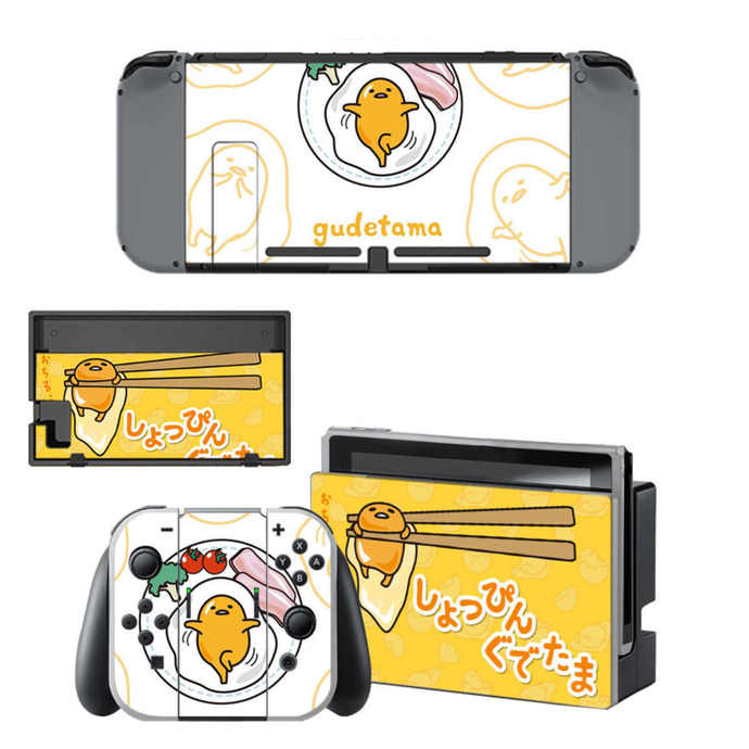 Gudetama Nintendo switch Skin