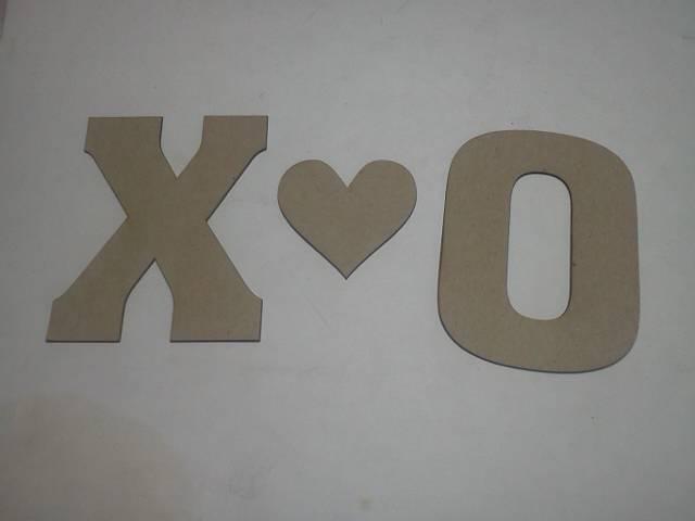 Chipboard X O*