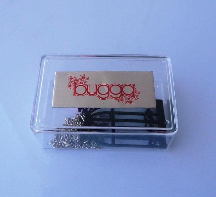 Hidden Love Necklace ,Plexiglass Jewelry,Lasercut Acrylic,Gifts Under 25
