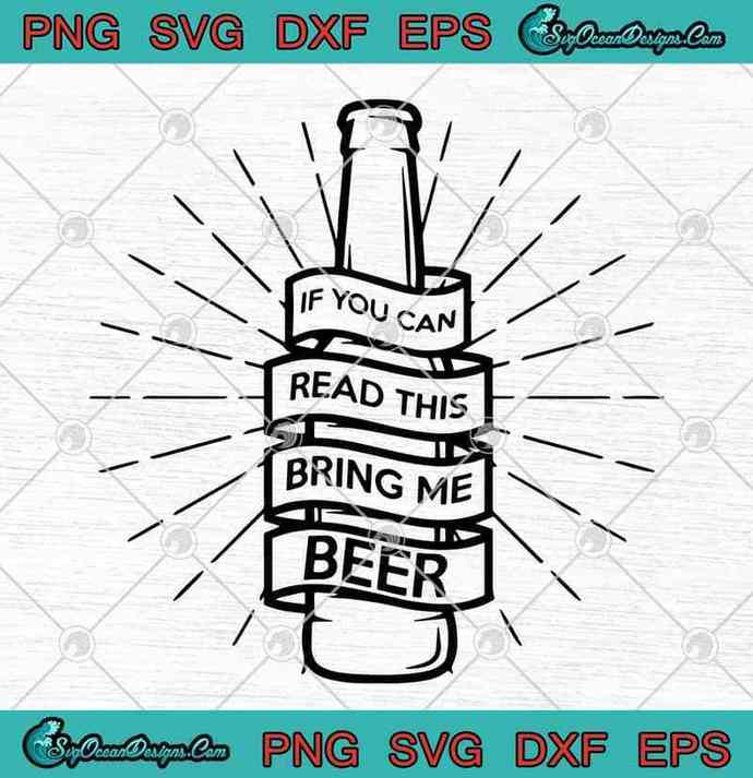 If You Can Read This Bring Me Beer By Ocean Design For You On Zibbet