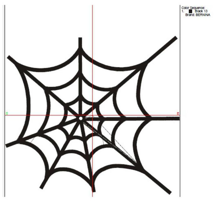 Cobweb embroidery design, halloween Embroidery Machine Designs, spider