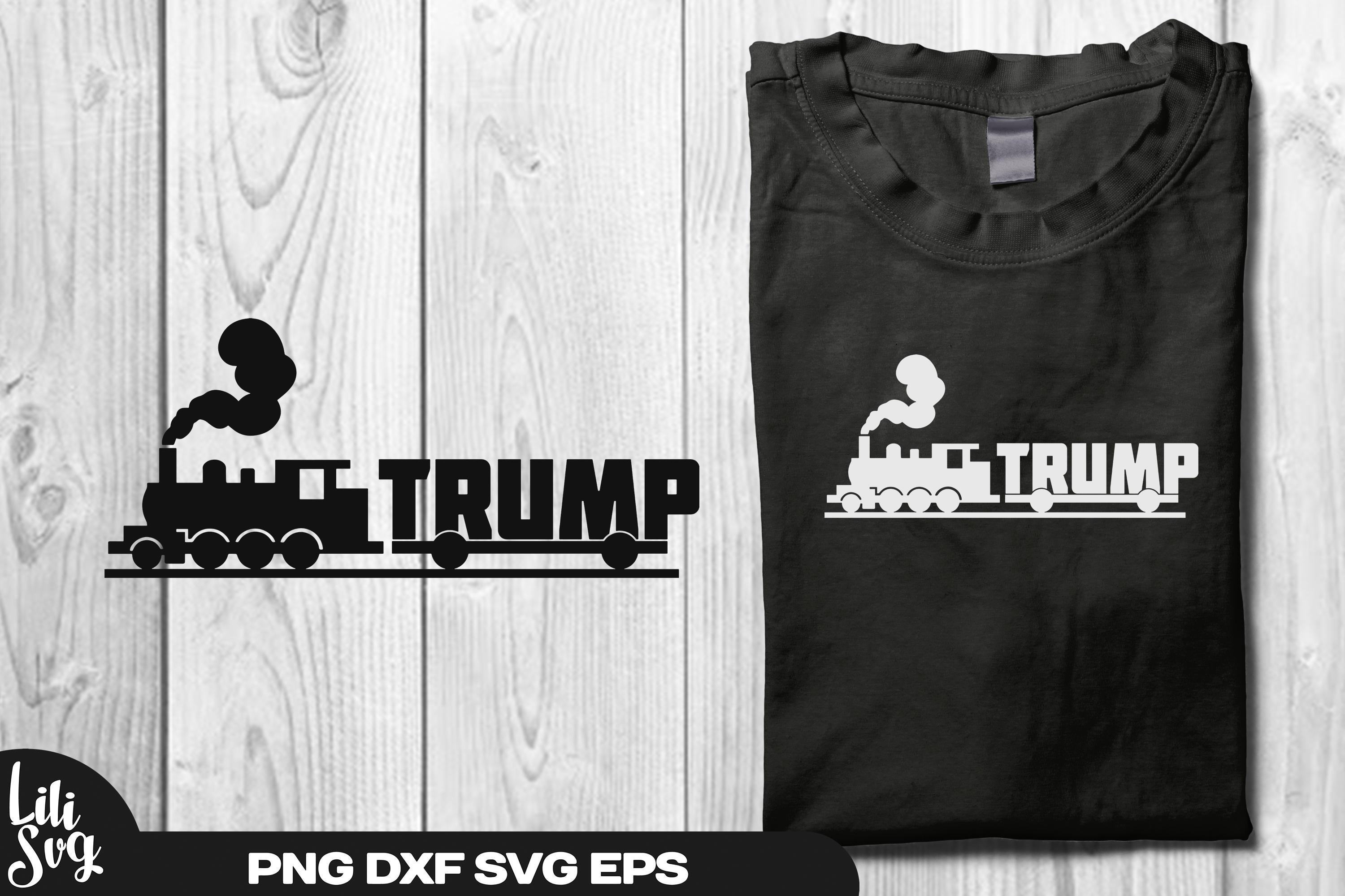Trump Train Svg Ai Png Dxf Eps File Trump 2020 By Lilisvg On Zibbet