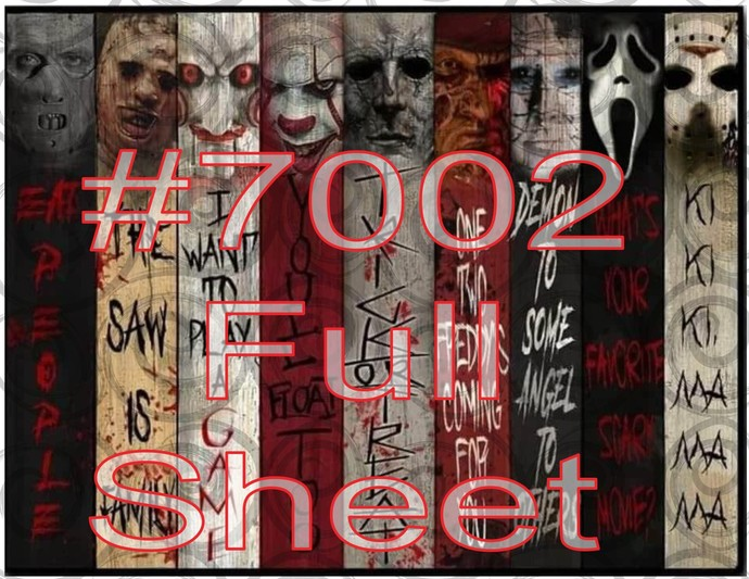 "Digital ""Horror Slab"" #7002"