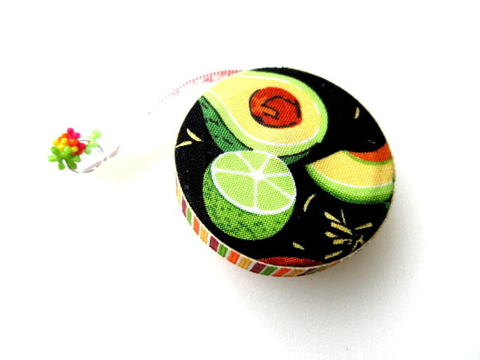 Retractable  Measuring Tape Tacos Tuesday Small Tape Measure