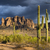 Superstition Mountains, Arizona - Impending Monsoon Storm