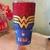 Rhinestone Yeti Rambler with Wonder Woman Logo