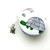 Tape Measure Flannel White Turtles Small Retractable Tape Measure