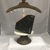 Black and Bronze Fully-Lined Gem Coin Pouch