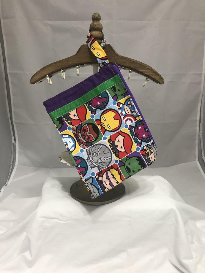 Marvel Kawaii Fully-Lined Zippered Bag