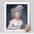 Older Woman Birthday Gift, Custom Portrait from Photo, Historical Personalized