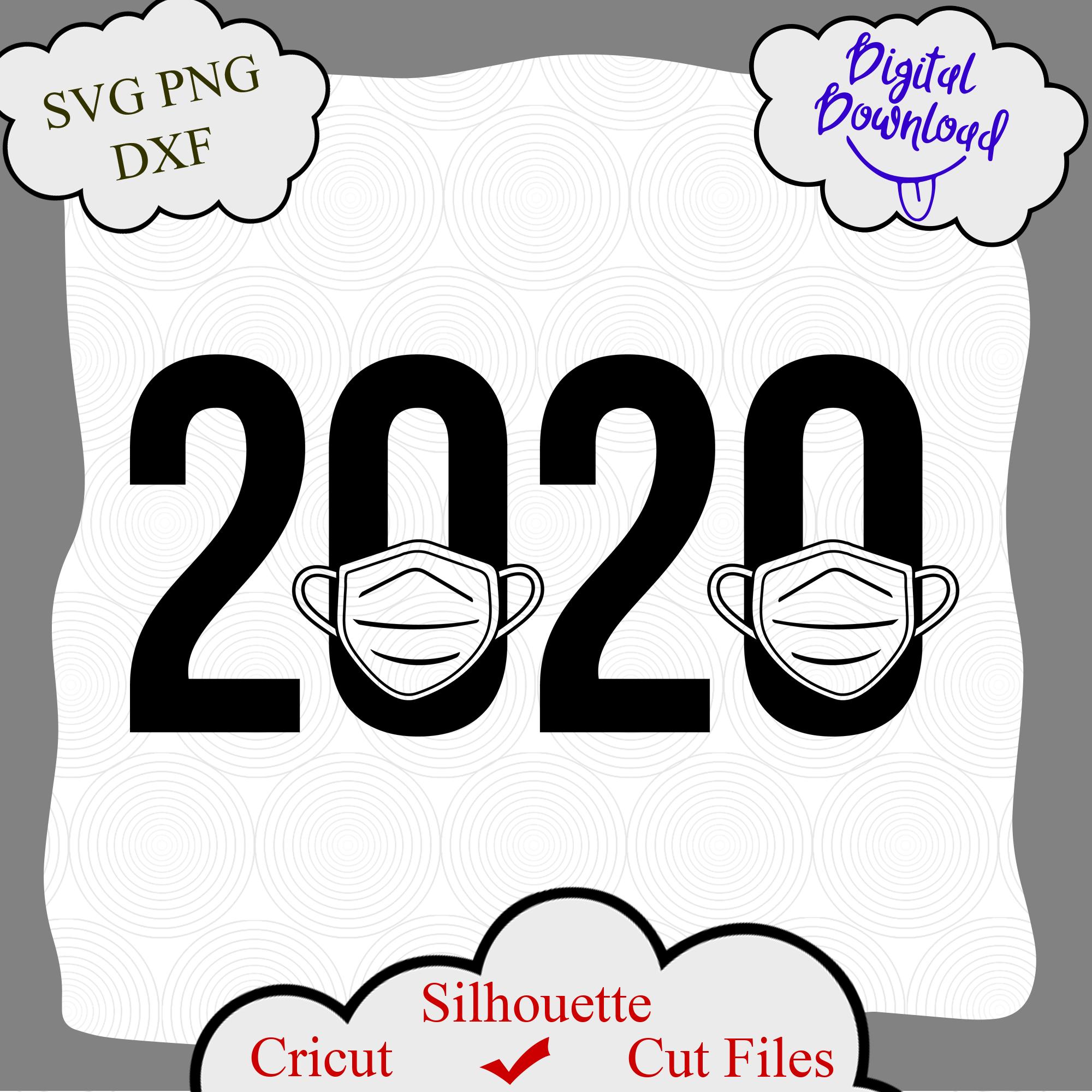 2020 quarantine svg, quarantine svg, medical mask svg, Senior 2020, Quarantined
