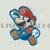 Super Mario Iron On Patch