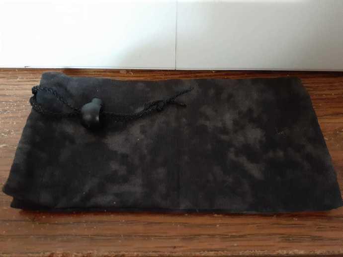 Black Cloud Dice Bag