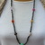 Chunky Gemstone. Beaded Necklace, Hand Knot, Jewelry for her by KnottedUp