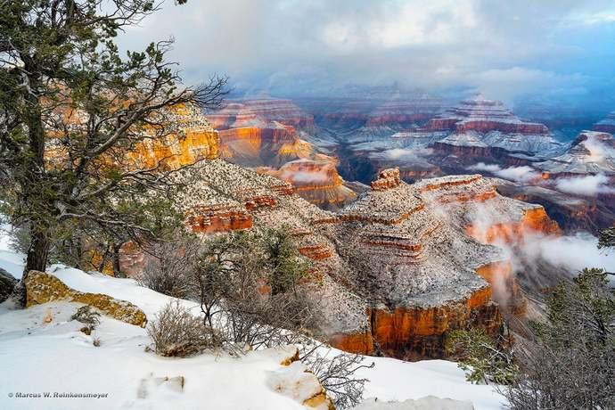 Copy of Grand Canyon, Winter Freeze