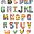 #101 Alphabet Superhero logo Modern Cross Stitch Pattern, ABC characters comics,