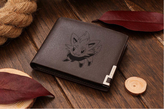 Zorua  Leather Wallet