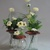 Flower Frogs - 1 fits on wide mouth canning jar or vase - 2 smaller ones for