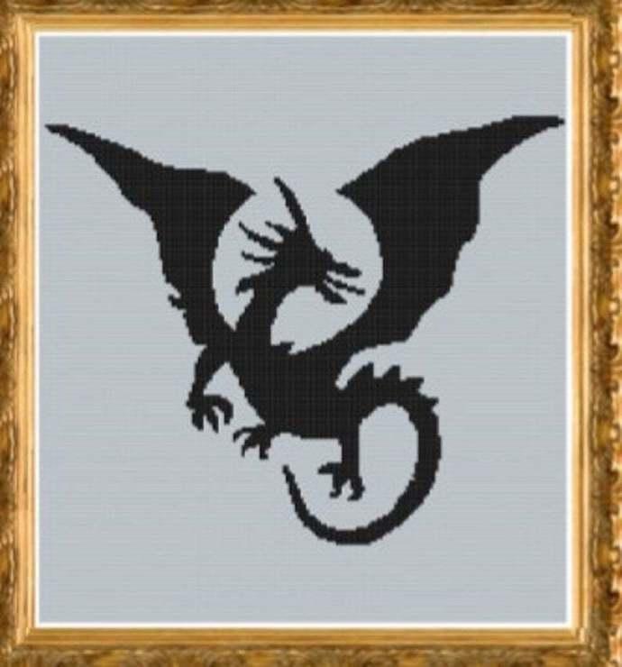 tribal dragon sc 180 by 200