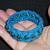 deal of the week: teal blue turks head knot sailor bracelet w green beads 123