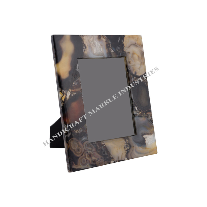 Agate Picture Frame Agate Photo Frame Memorable Pictures Family Photo Old