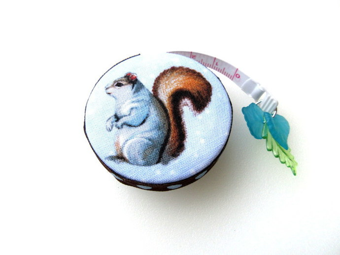 Tape Measures Squirrel and Chipmunk Small Retractable Measuring Tape
