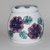 """Jar - Small with flower and leaves - 4"""" X 4"""""""