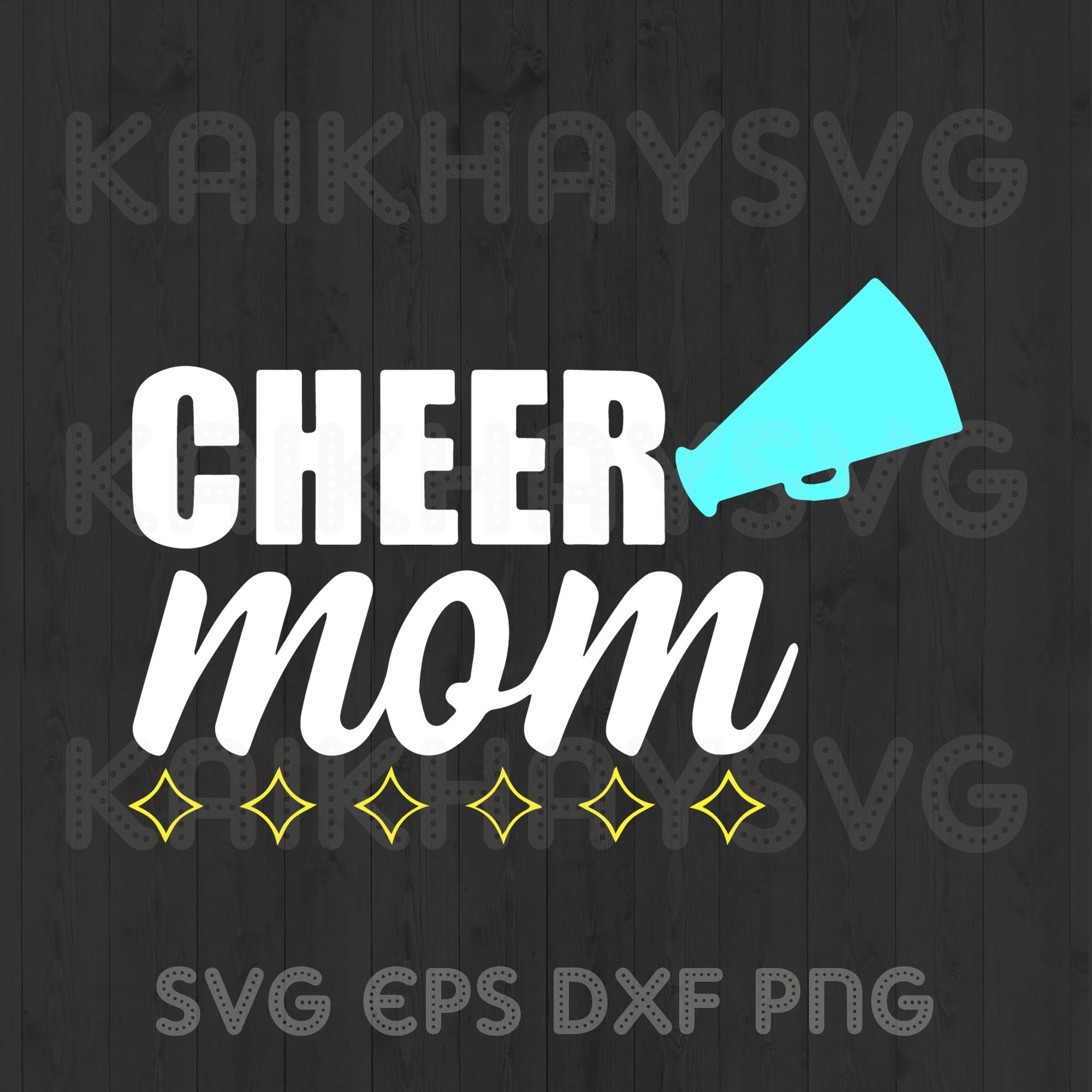 Cheer Mom Svg Blessed Mama Svg Mother Day By Kaikhaystore On Zibbet