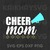 Cheer Mom SVG , Blessed Mama SVG, Mother Day SVG, Father's Day SVG, Family