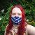 Fun ABC Kawai Star Wars Characters Geeky face mask 100% cotton fabric & flannel