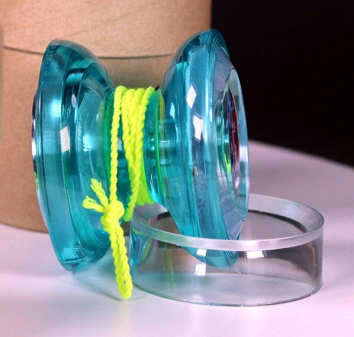 Adegle PSG Gem Series Yo-Yo, COVID-19 Biohazard mods by YoYoSpin