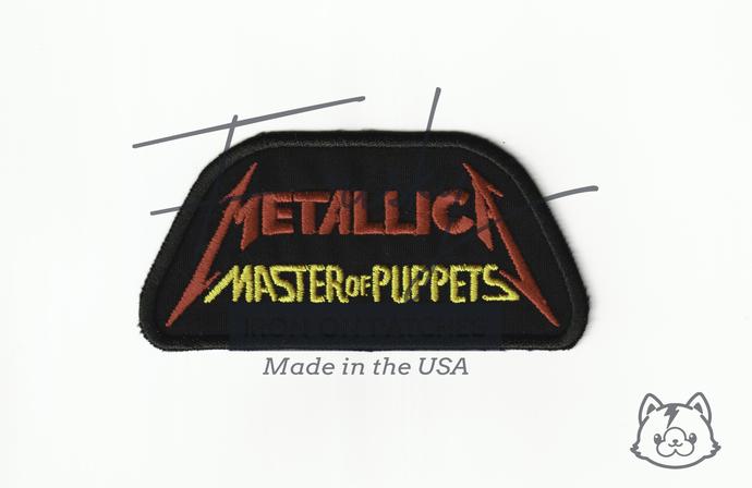 Metallica Iron On Patch