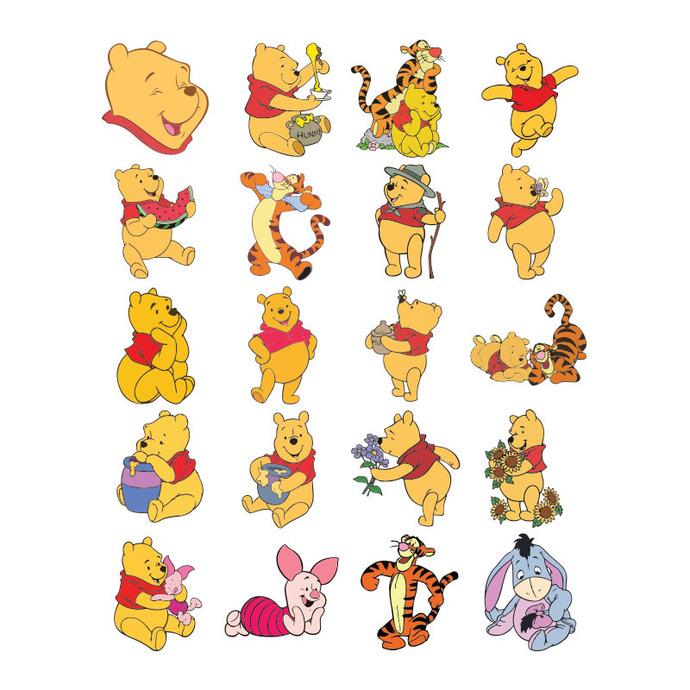 20 Winnie The Pooh Svg Disney Svg Cricut Silhouette Cameo Cut Files