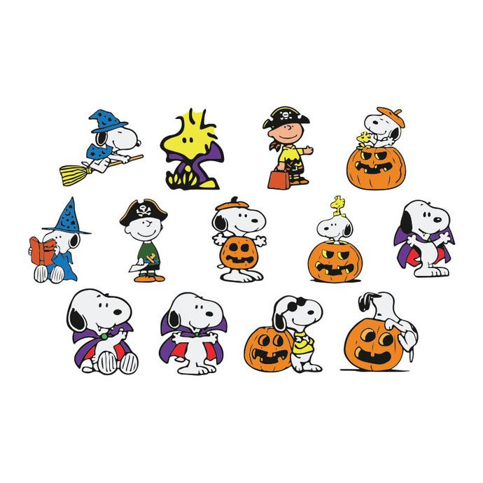 Snoopy Stickers Halloween Bundle Svg, Halloween, Halloween Svg, Halloween Png