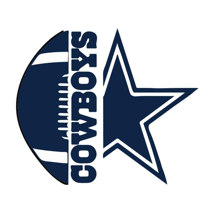 Dallas Cowboys Svg, For Live Svg, Cricut File, NFL Svg, Star Svg, Heartbeat Svg,