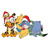 Friends Winnie the Pooh Christmas, Winnie the Pooh svg, Winnie the Pooh