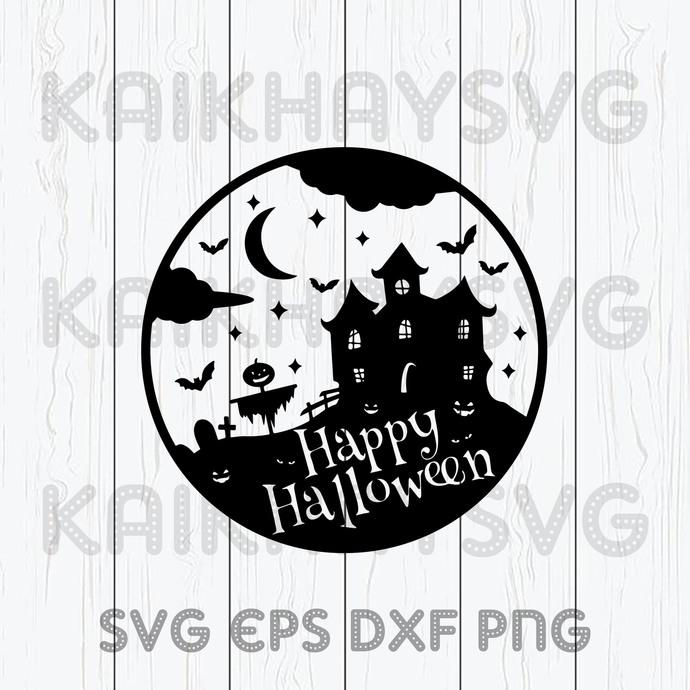 Happy Halloween Svg Happy Halloween Spookie By Kaikhaystore On Zibbet