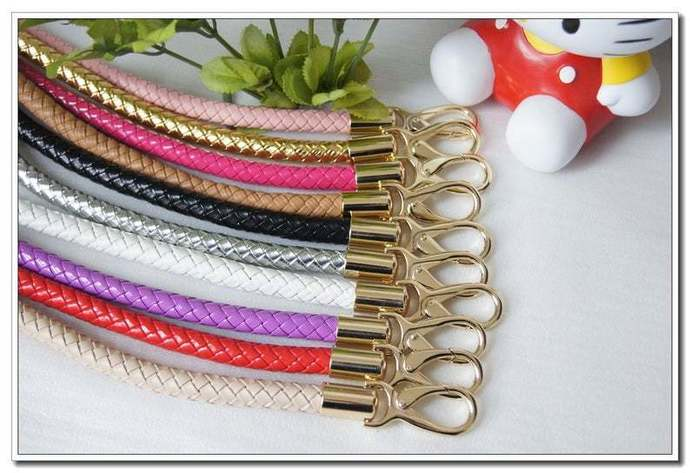 a pair of 13 to 25 inch PU leather handbag handle purse handles bag handles 12