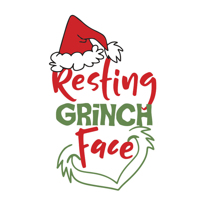 Free Grinch Face Svg Files For Cricut By Tee62s On Zibbet