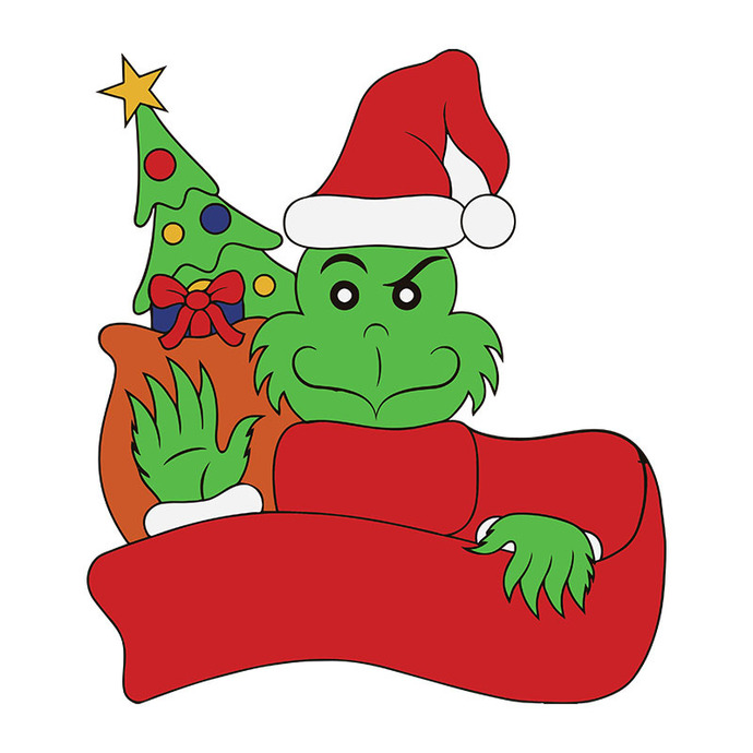 The Grinch, Film, Stealing Christmas Svg, How The Grinch Stole The Grinch Png