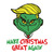 Make Christmas Great Again The Grinch Svg,