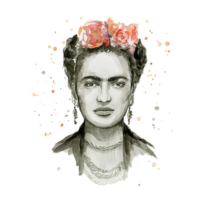 Frida Kahlo Fan Art, HD Png Download