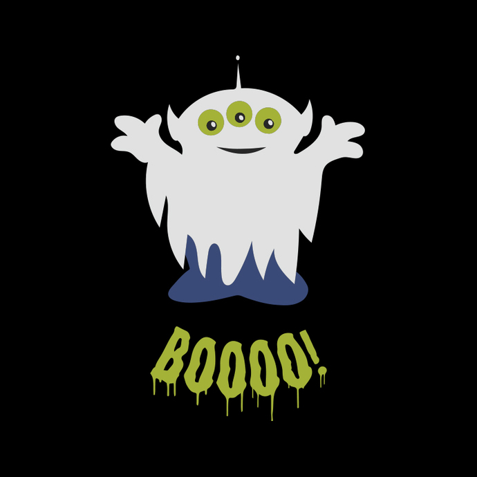 Toy Story Halloween Squeeze Alien Boo Ghosts Svg, Cricut File Svg, Toy Story