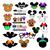 Halloween Svg, Mickey Minnie Svg, Bundle, Pumpkin Svg, Trick Or Treat Svg, Funny