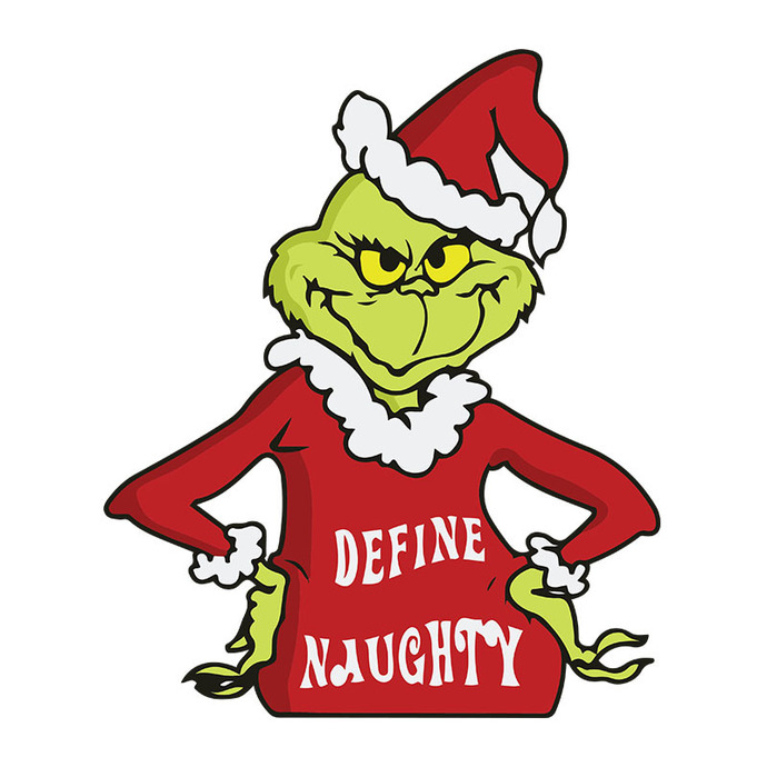 The Grinch Naughty Grinch The Grinch Svg, Dxf, Png Digital