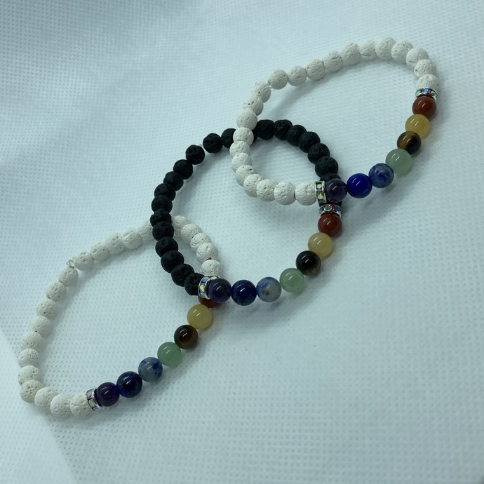 The Trevor Project: Chakra Pride Bracelets