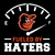 Fueled By Haters Baltimore Svg, Baltimore Orioles Digital download
